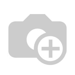 [FURN_0096] Chair Stackable (Wooden Seat) (Steel, White)